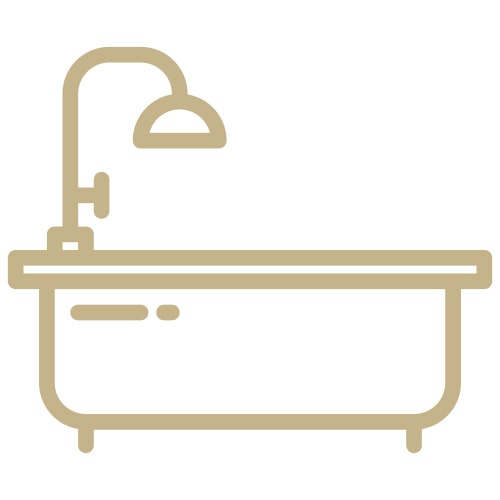 Bathroom Icon at New House Farm Country Retreat