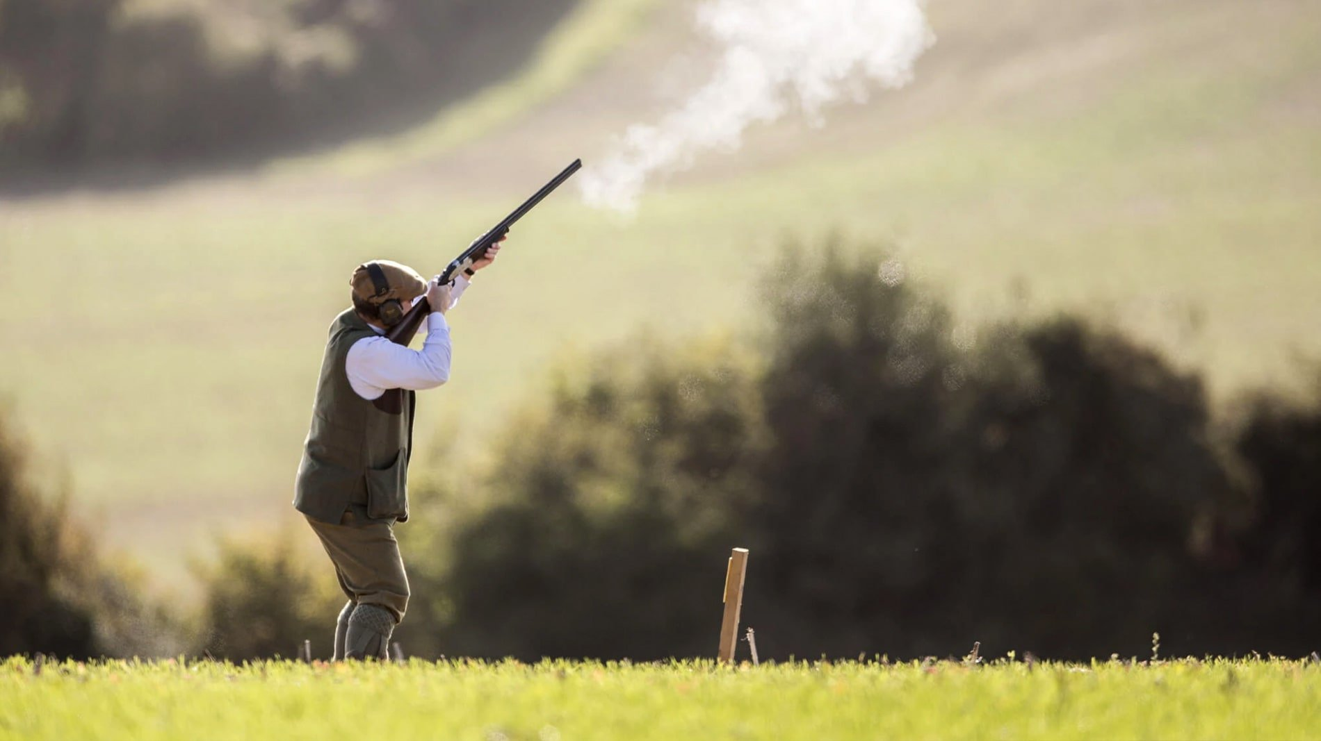 Clay Pigeon Shooting at New House Farm Country Retreat