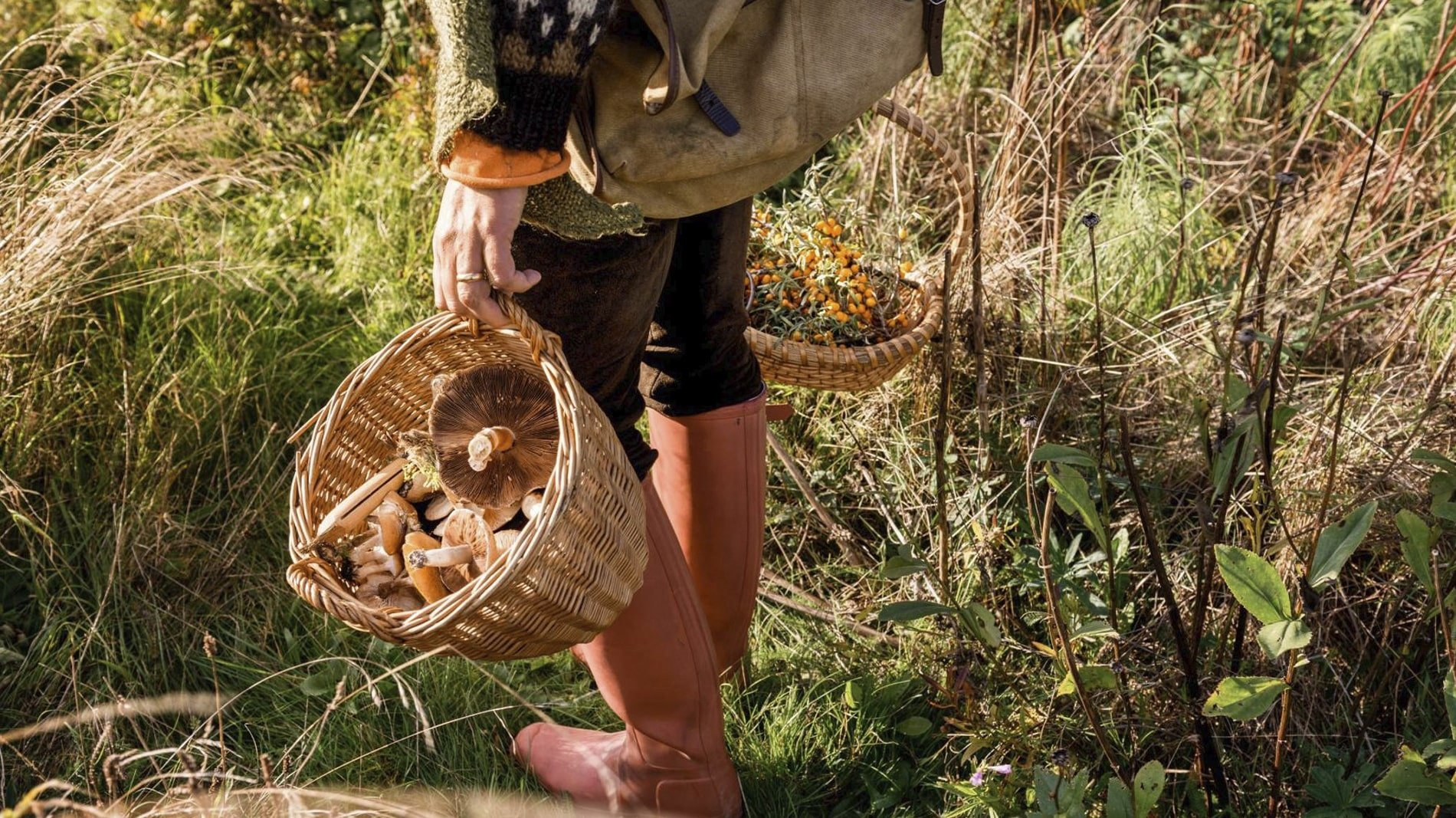 Foraging Excursions at New House Farm Country Retreat
