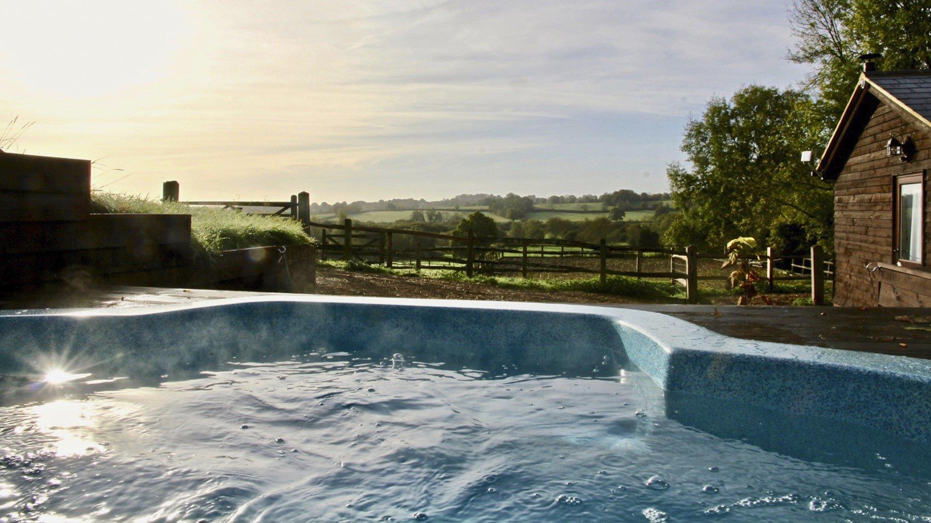Hot Tub at New House Farm Country Retreat