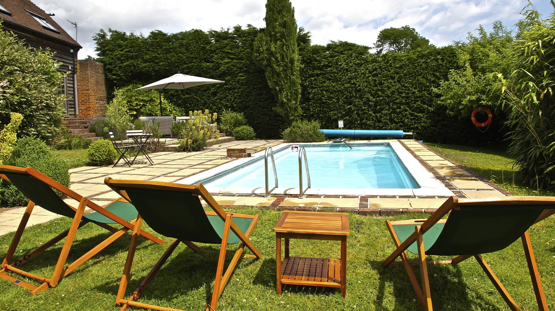 Swimming Pool at New House Farm Country Retreat