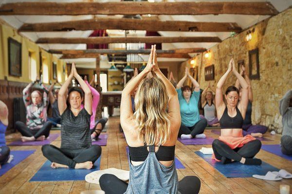 Yoga at New House Farm Country Retreat